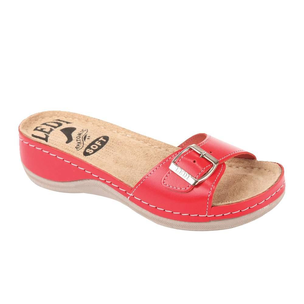 Image of 407/24 Női papucs piros (37 méret, 39 méret, 41 méret, 36 méret, 38 méret, 40 méret)