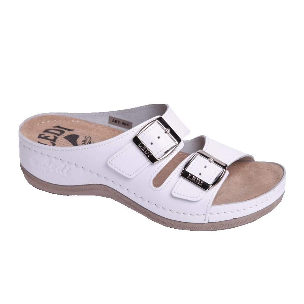 Image of 404/18 Női papucs fehér (36 méret, 38 méret, 40 méret, 37 méret, 39 méret, 41 méret)