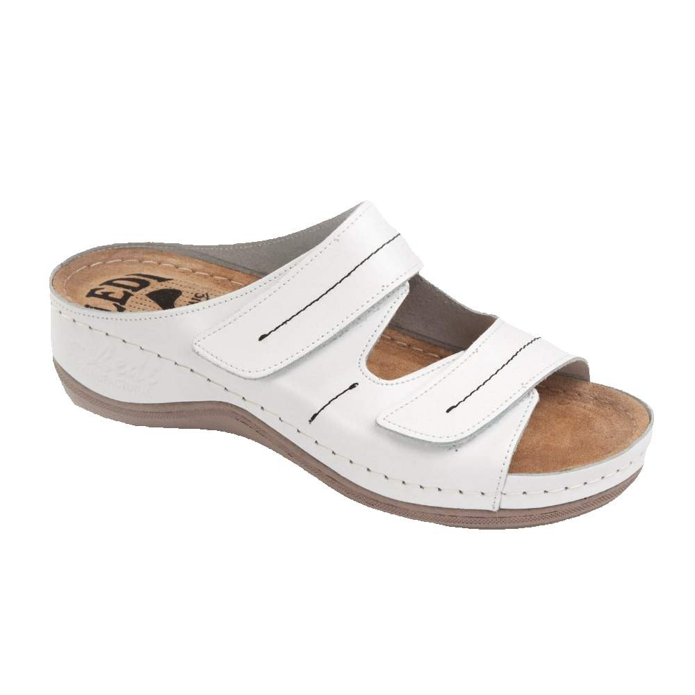 Image of 434/18 Női papucs fehér (új) (36 méret, 38 méret, 40 méret, 37 méret, 39 méret, 41 méret)